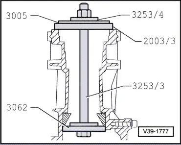 Audi Workshop Manuals > A4 Mk2 > Power transmission > Rear