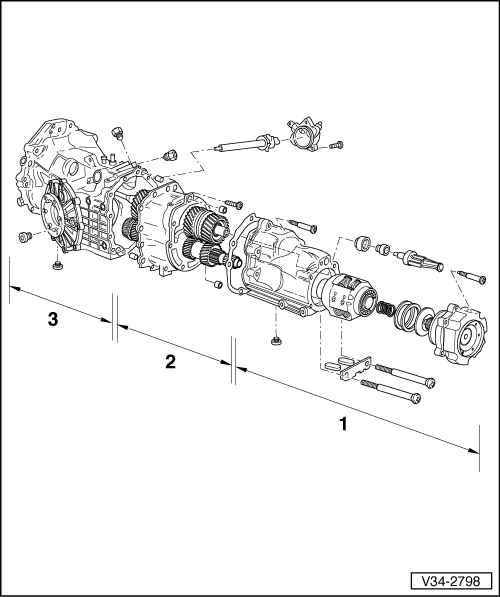 Audi Workshop Manuals > A4 Mk2 > Power transmission > 6