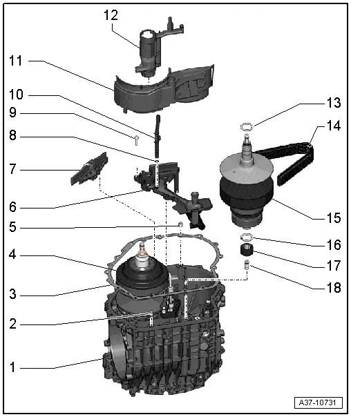 Audi Workshop Manuals > A4 Mk2 > Power transmission