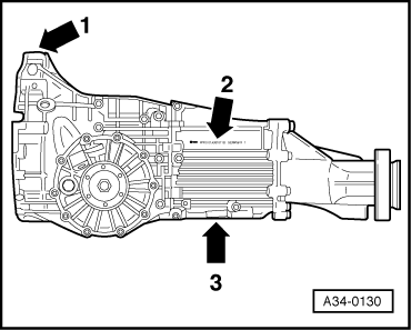 Audi Workshop Manuals > A4 Mk2 > Power transmission > 5