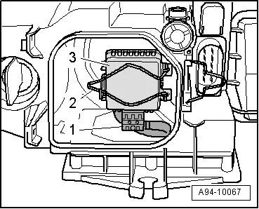 Audi Workshop Manuals > A4 Mk2 > Vehicle electrics