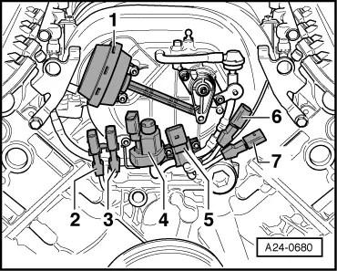 Where can I find knock sensor 4?