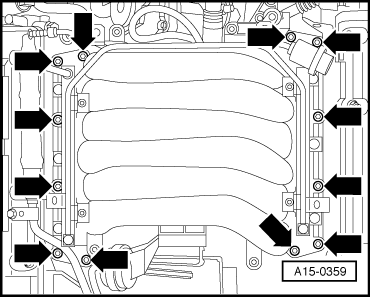 Audi Workshop Manuals > A4 Mk2 > Power unit > 6-cylinder