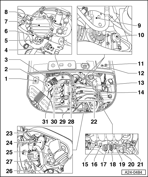 Audi Workshop Manuals > A4 Mk2 > Power unit > Motronic