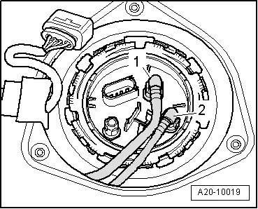 Audi Workshop Manuals > A4 Mk2 > Power unit > Fuel supply