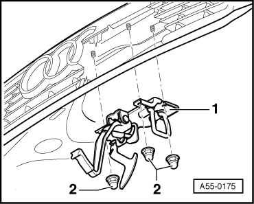 Audi Workshop Manuals > A4 Mk2 > Body > General body
