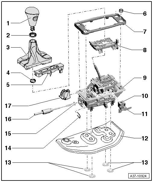 Audi Workshop Manuals > A4 Mk3 > Power transmission > 7