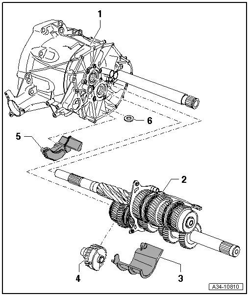 Audi Workshop Manuals > A4 Mk3 > Power transmission