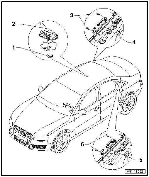 Audi Workshop Manuals > A4 Mk3 > Vehicle electrics