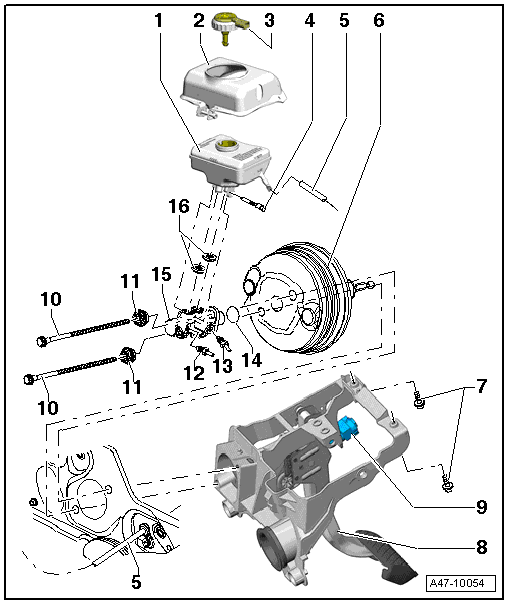 Audi Workshop Manuals > A4 Mk3 > Brake system > Brakes