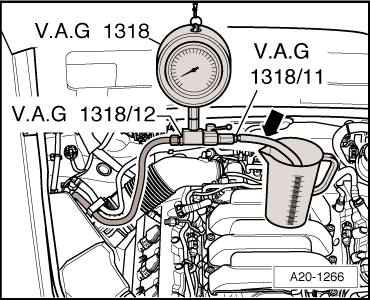 Audi Workshop Manuals > A4 Mk3 > Power unit > Fuel supply