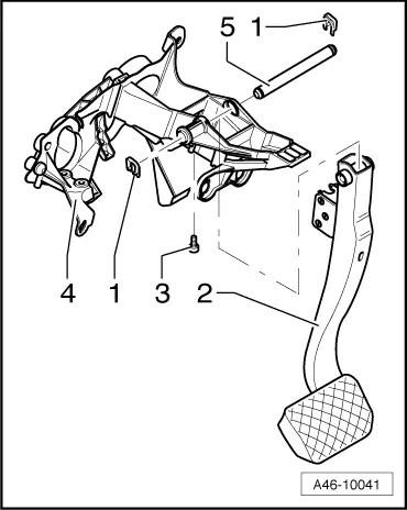 Audi Workshop Manuals > A4 Mk3 > Brake system > Brake