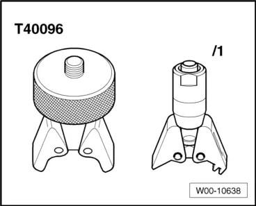 Audi Workshop Manuals > A4 Mk3 > Power unit > 6-cylinder