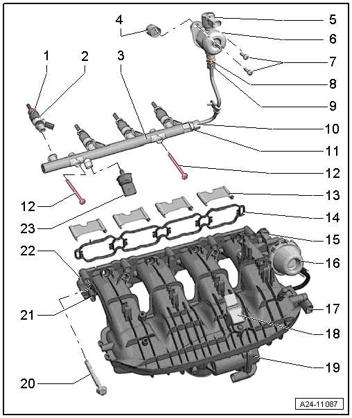Audi Workshop Manuals > A4 Mk3 > Power unit > Direct