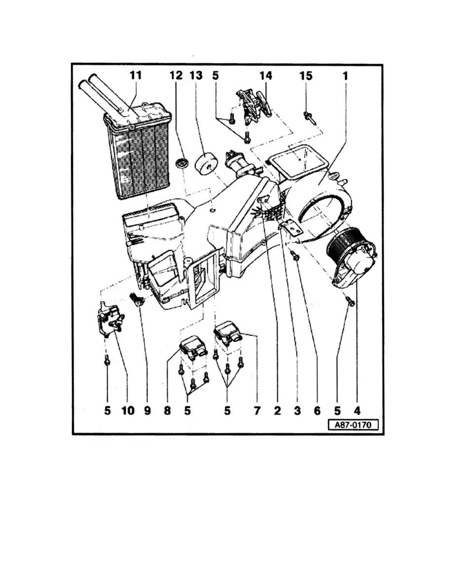 Audi Workshop Manuals > A4 Quattro Sedan L4-1.8L Turbo