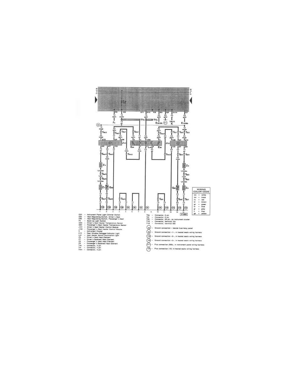 Audi Workshop Manuals > A4 Quattro Sedan V6-2.8L (ACK