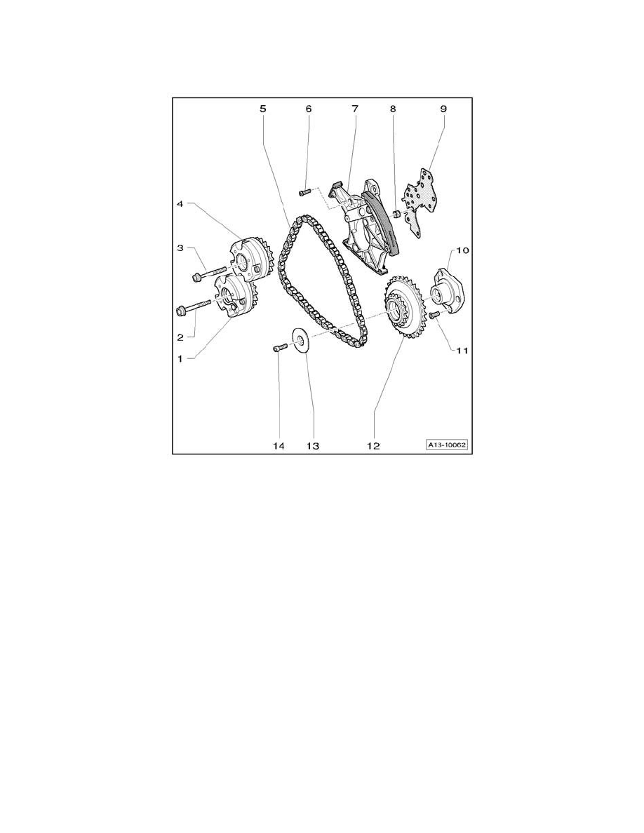 hight resolution of engine cooling and exhaust engine timing components timing chain component information service and repair left camshaft timing chain