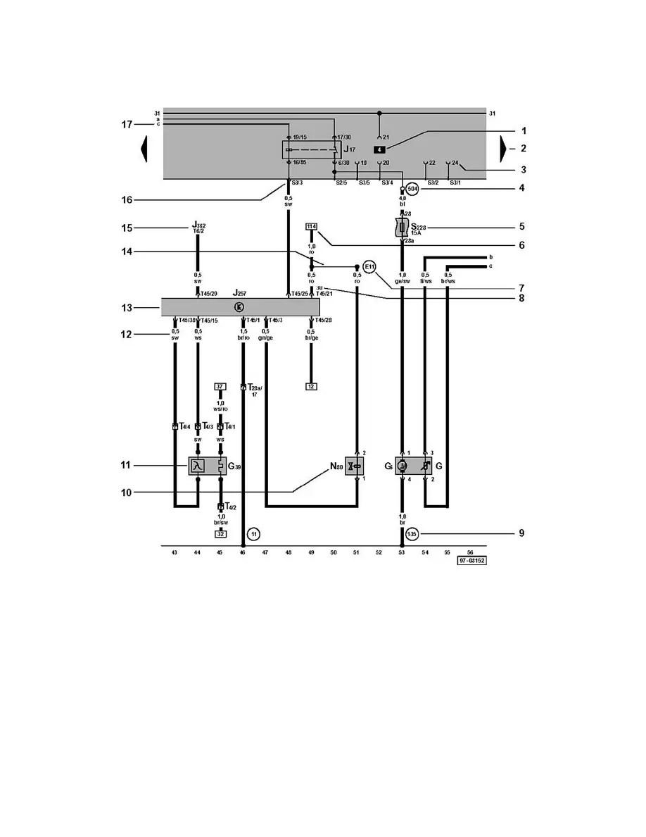 Audi Workshop Manuals > A4 Quattro Wagon L4-1.8L Turbo
