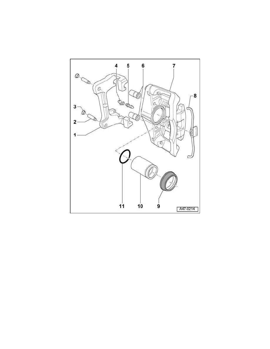 Audi Workshop Manuals > A4 Quattro Wagon L4-2.0L Turbo