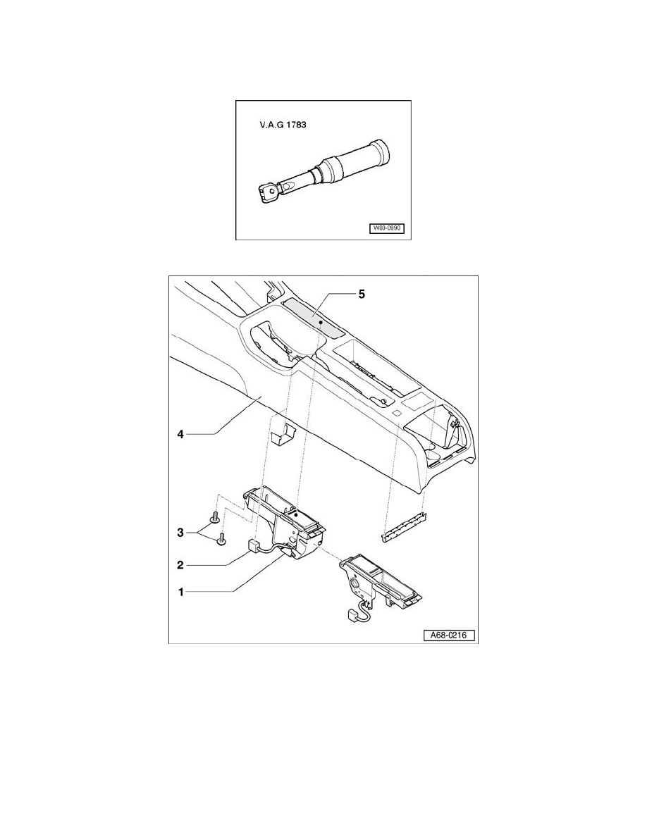 Audi Workshop Manuals > A4 Sedan V6-3.0L (AVK) (2002