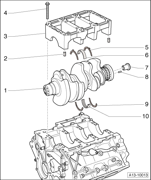Radial Engine Crankshaft Diagram