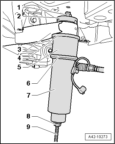 2001 Mitsubishi Eclipse Front Suspension Diagram, 2001