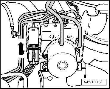 Audi Workshop Manuals > A5 > Brake system > ABS, ADR, TCS