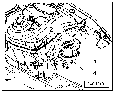 Audi Workshop Manuals > A5 > Running gear, front-wheel