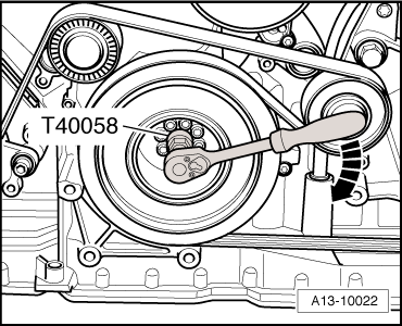 Audi Workshop Manuals > A5 > Power unit > 6-cylinder TDI