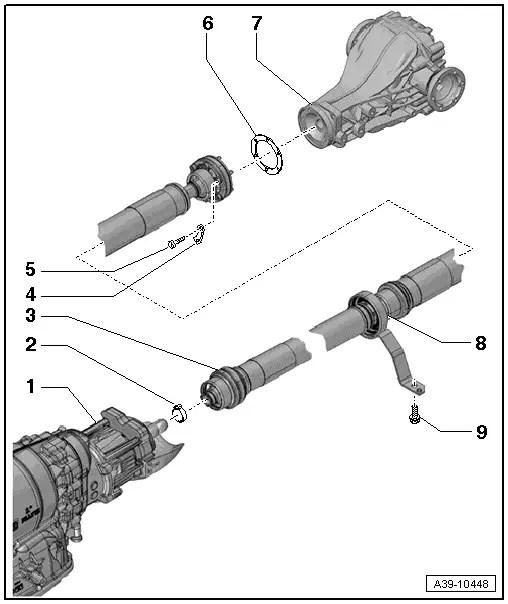 Audi Workshop Manuals > A5 > Power transmission > Rear