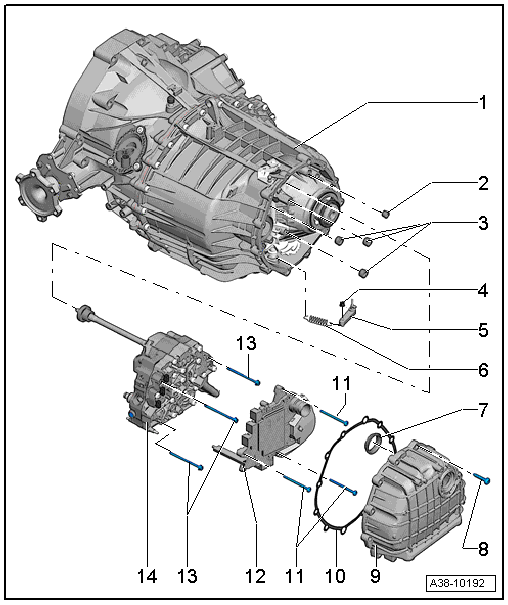 Audi Workshop Manuals > A5 > Power transmission > multitronic 0AW, front-wheel drive > Automatic