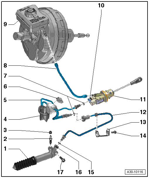 Service manual [Clutch Master Cylinder Instructions