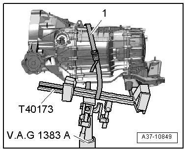 Audi Workshop Manuals > A5 > Power transmission > 6-speed