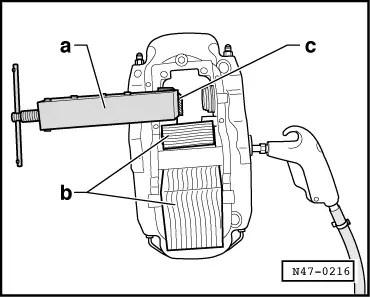 Audi Workshop Manuals > A5 > Brake system > Brakes