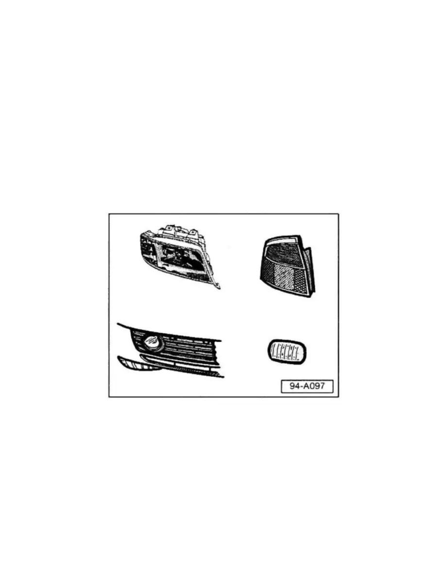 Audi Workshop Manuals > A6 V6-3.0L (AVK) (2004) > Lighting