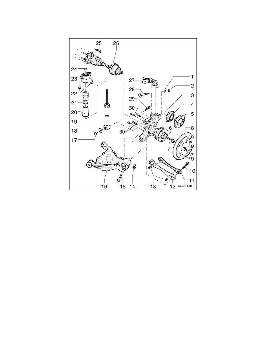 Audi Workshop Manuals > A6 Quattro Wagon V6-3.2L (BKH