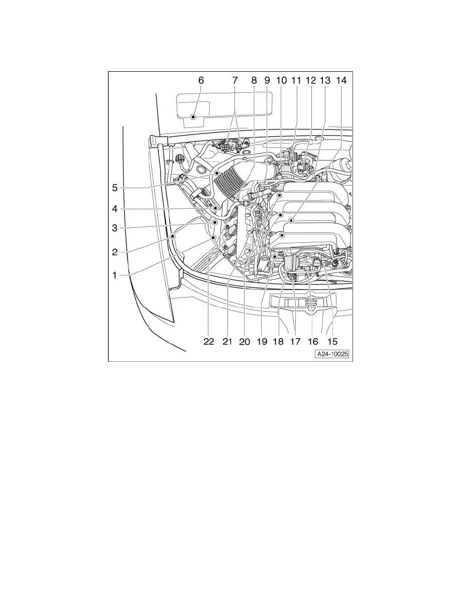 Volkswagen Intake Air Temperature Sensor Location