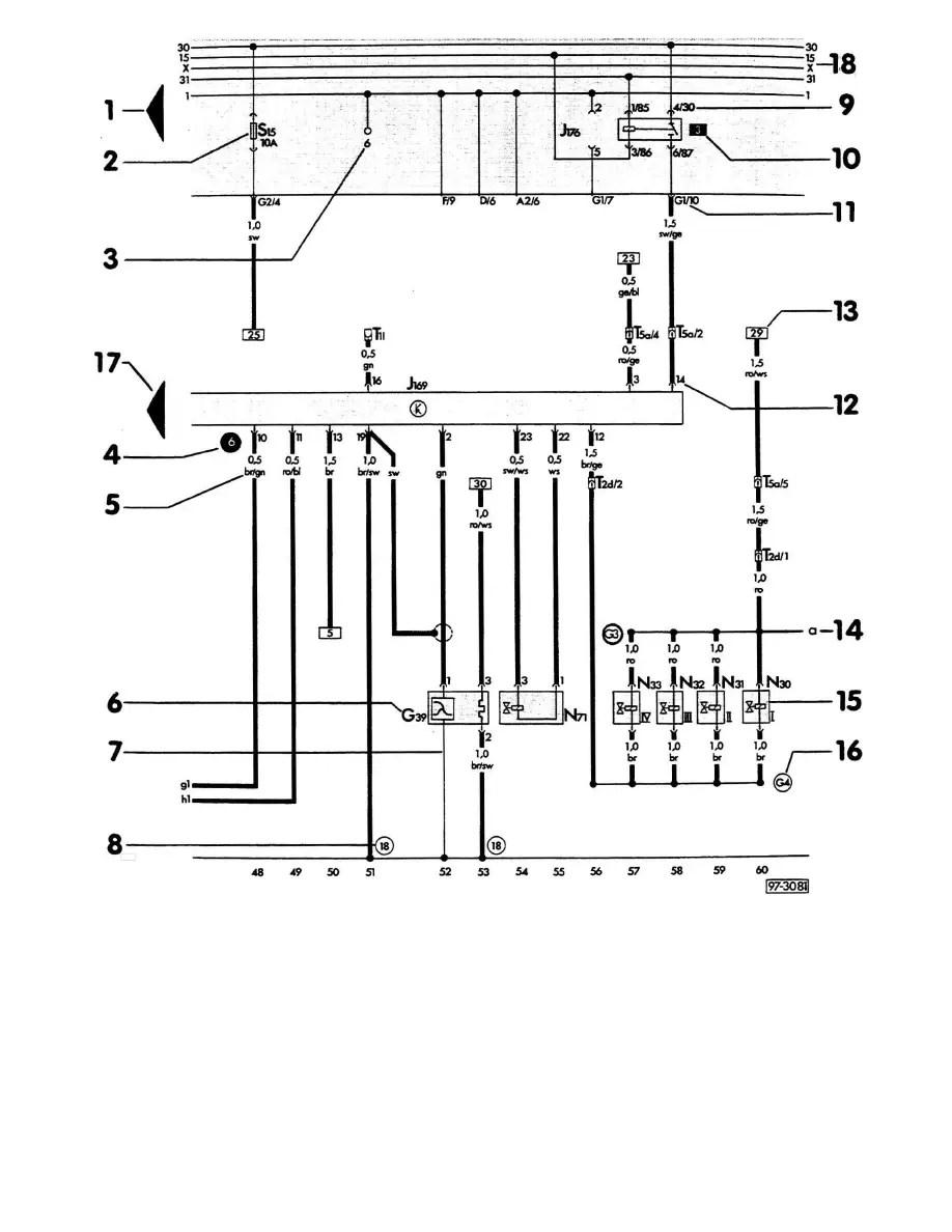 Audi Workshop Manuals > A6 Wagon V6-2.8L (AFC) (1995