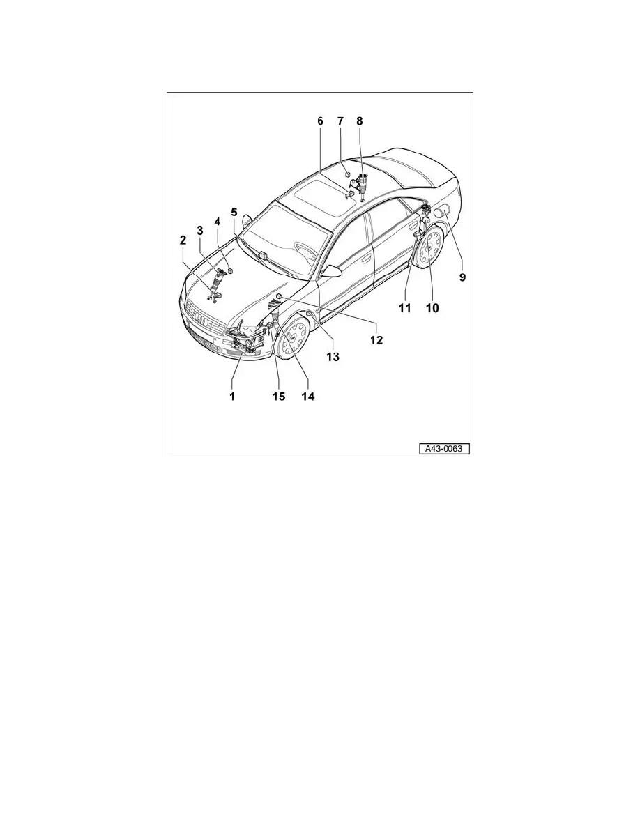Audi Workshop Manuals > A8L Quattro Sedan V8-4.2L (BVJ