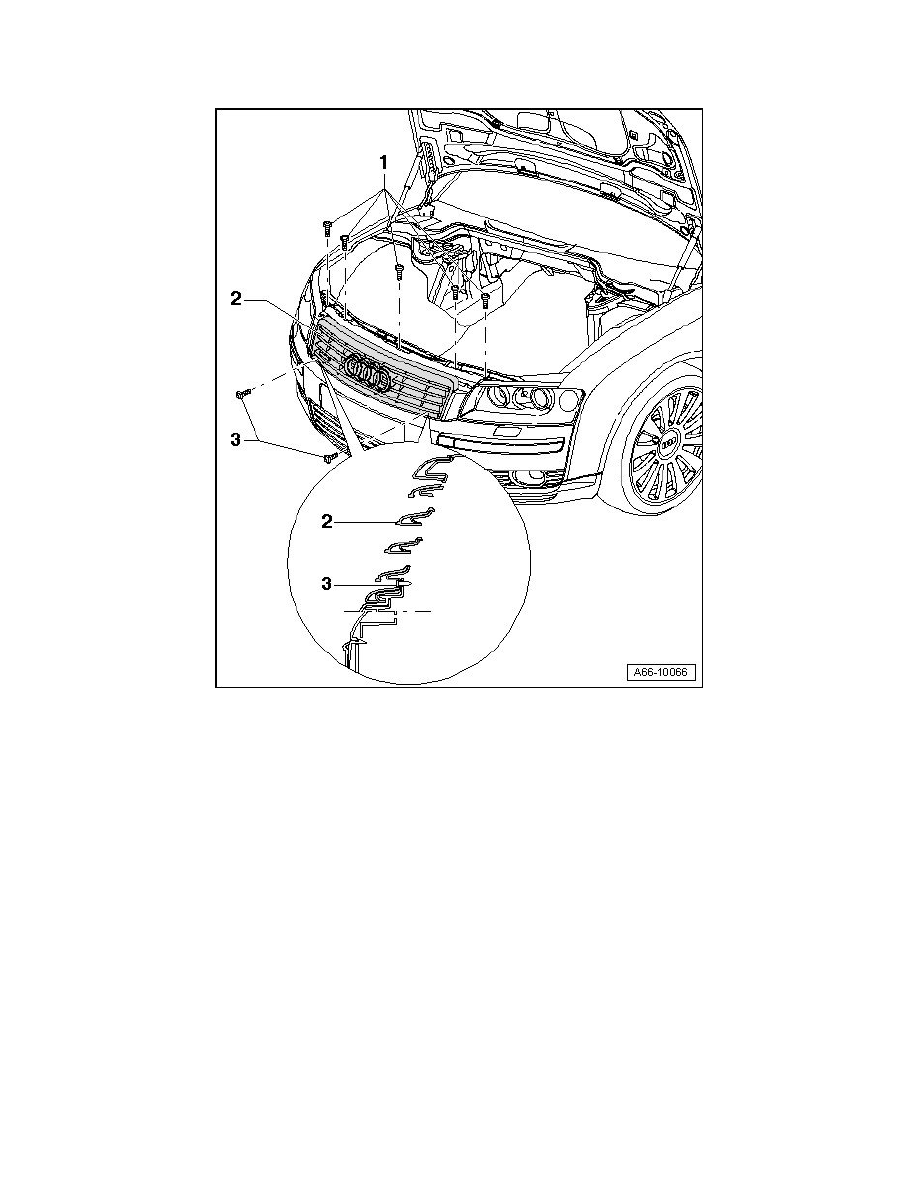Audi Workshop Manuals > A8L Quattro Sedan V8-4.2L (BVJ
