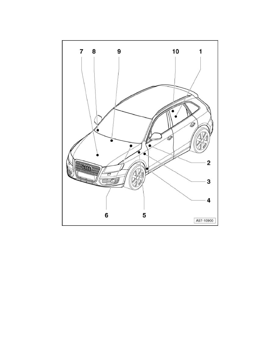 Audi Workshop Manuals > Q5 Quattro V6-3.2L (CALB) (2009