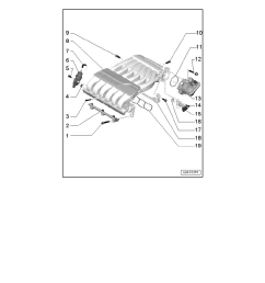 engine cooling and exhaust engine intake manifold component information service and repair intake manifold assembly overview [ 918 x 1188 Pixel ]