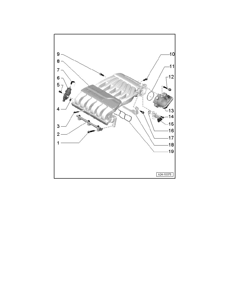 medium resolution of engine cooling and exhaust engine intake manifold component information service and repair intake manifold assembly overview
