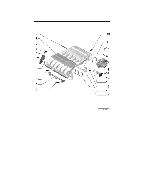 small resolution of engine cooling and exhaust engine intake manifold component information service and repair intake manifold assembly overview