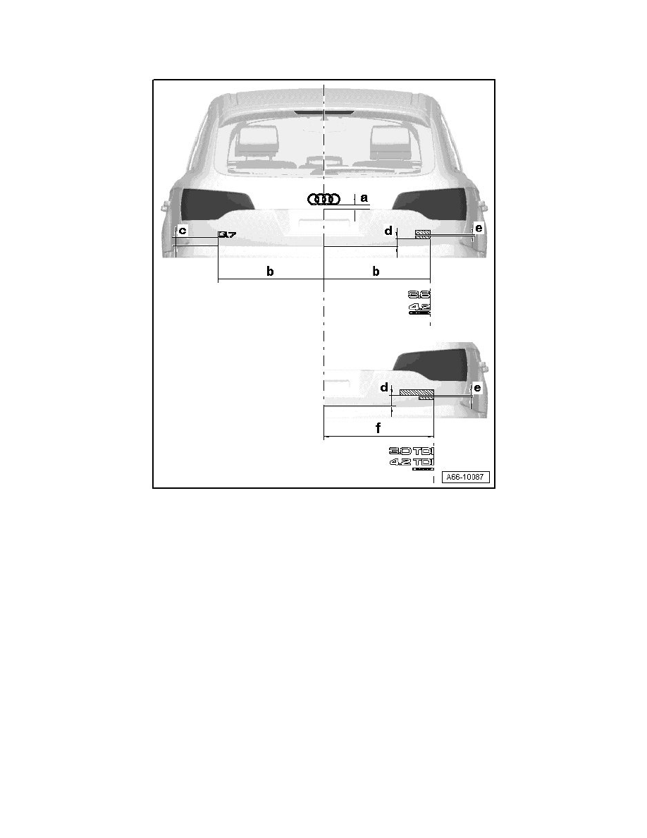 Audi Workshop Manuals > Q7 Quattro V6-3.6L (BHK) (2007