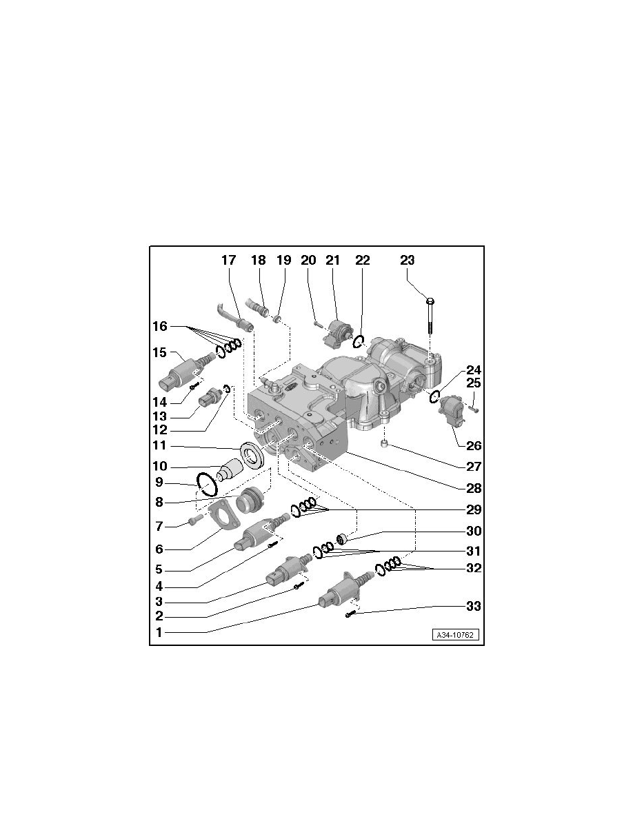 Audi Workshop Manuals > R8 Quattro Coupe V10-5.2L (BUJ