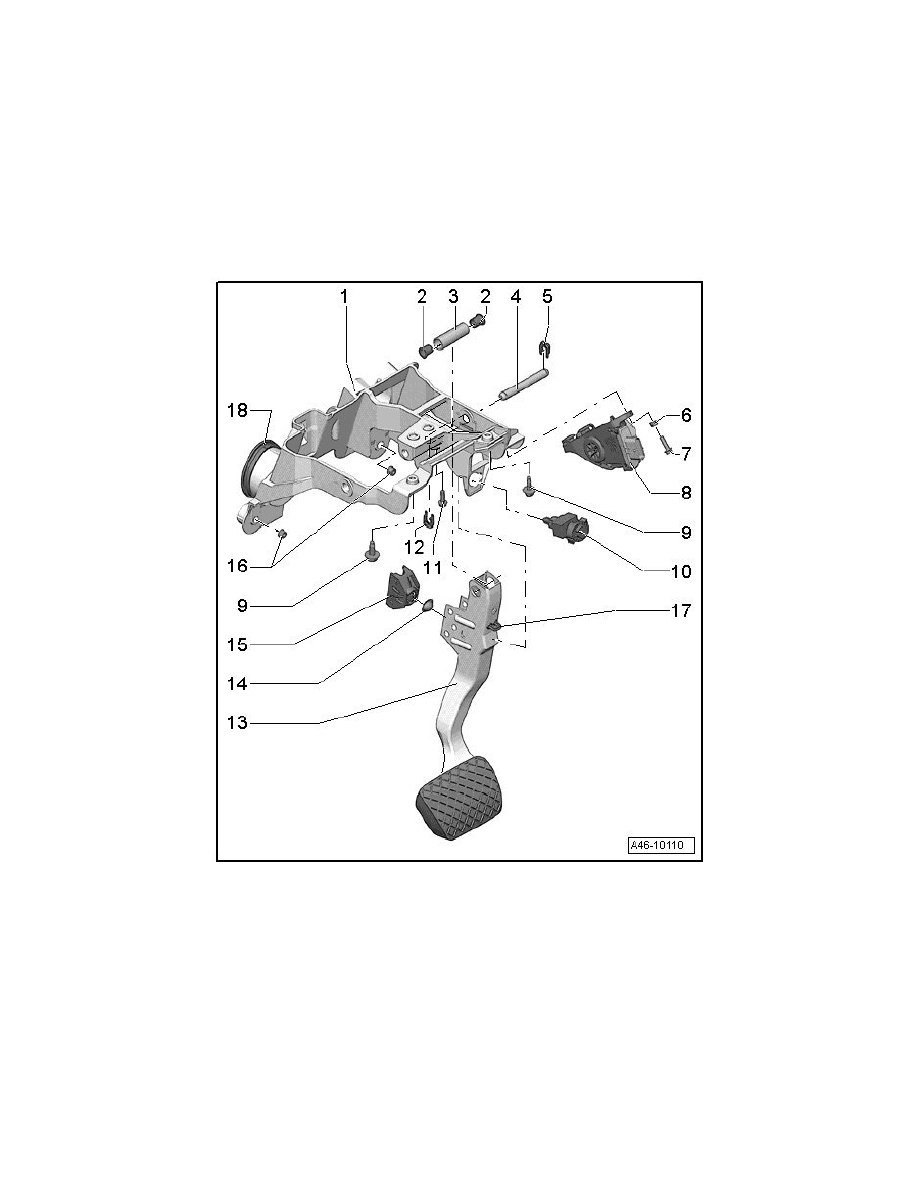 Audi Workshop Manuals > R8 Quattro Coupe V10-5.2L (BUJ