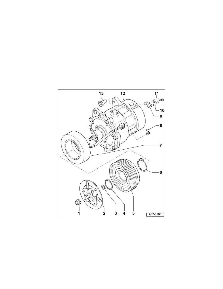 Audi Workshop Manuals > TT Quattro Coupe V6-3.2L (BHE