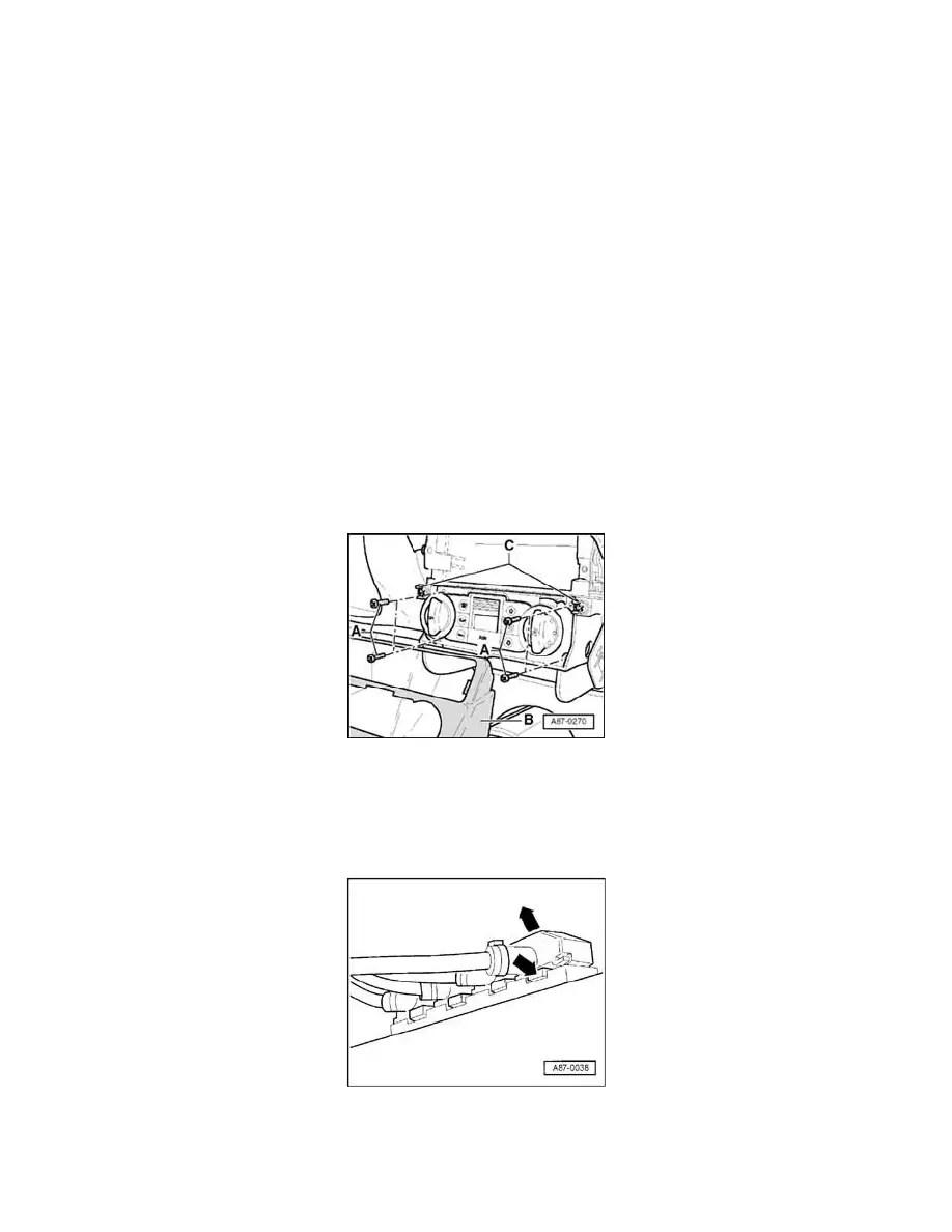 Audi Workshop Manuals > TT Quattro Roadster V6-3.2L (BHE