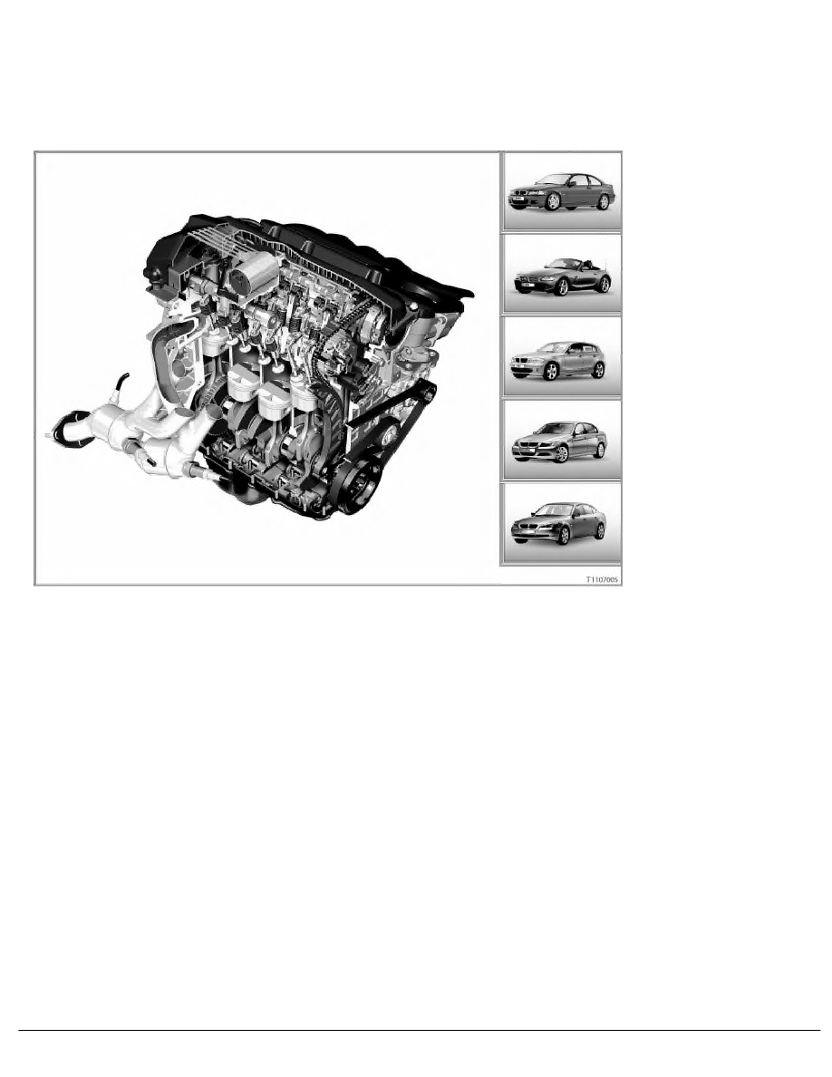BMW Workshop Manuals > 1 Series E87 118i (N46) 5-door > 6